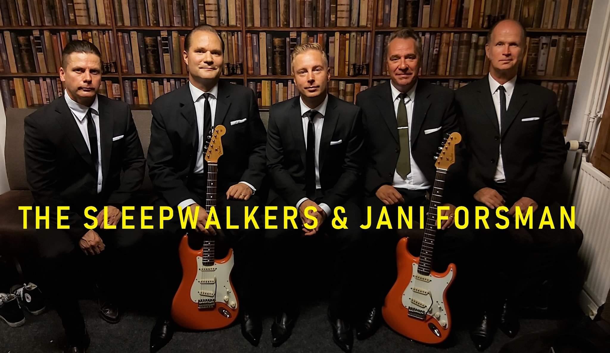 La 18.12. The Sleepwalkers & Jani Forsman
