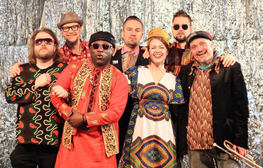 Ke 24.11. Rytmihäiriöklubi: Afrojazz Quintet feat. Charlotta Kerbs