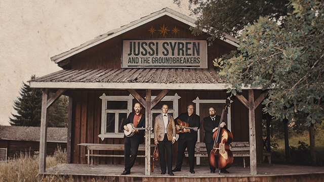 To 3.9. Jussi Syren & The Groundbreakers Klo 21.00