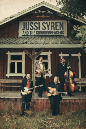 La 29.6 Ghettoklubi: Jussi Syren and The Groundbreakers Klo 21.00