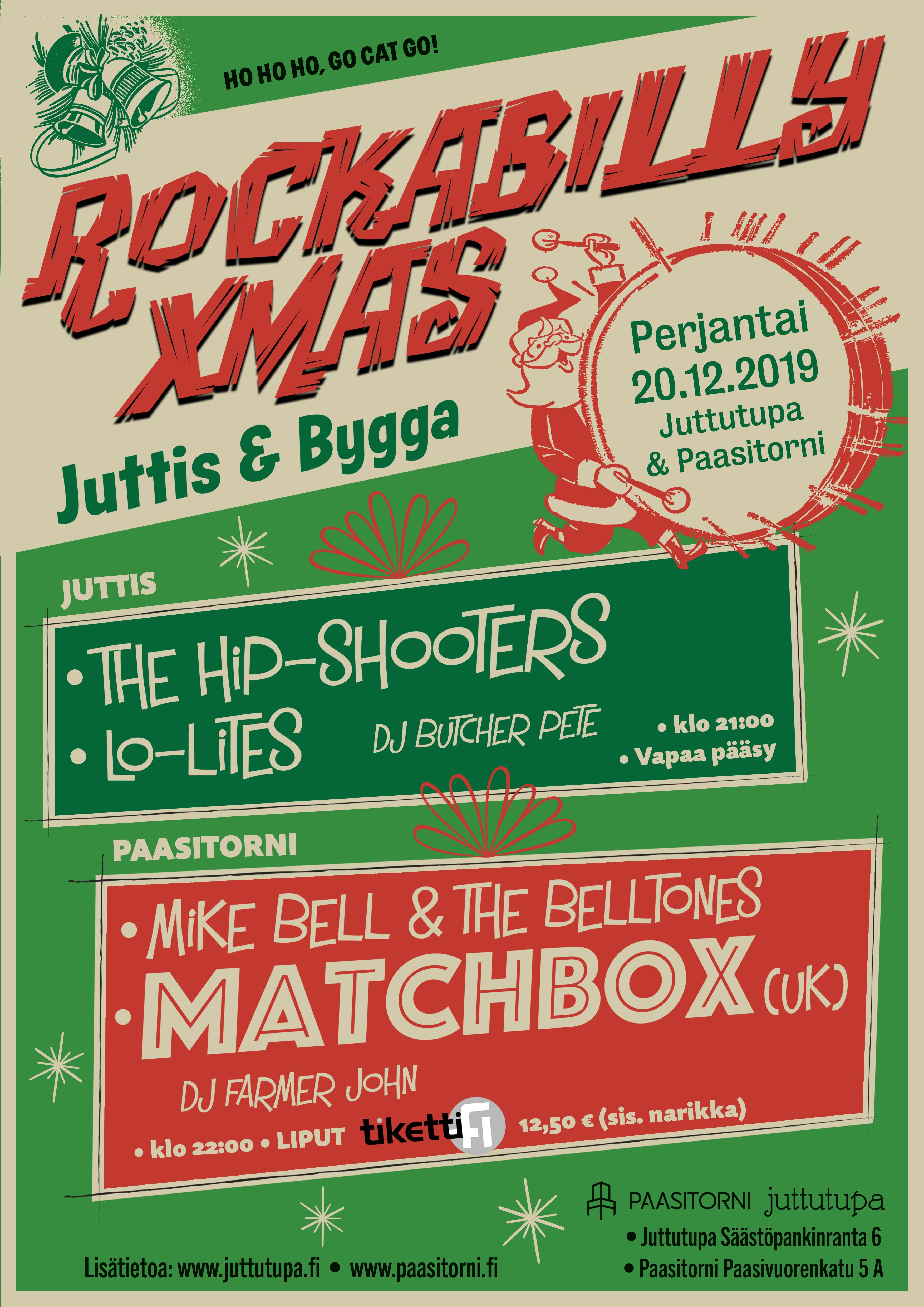 ROCKABILLY XMAS – Juttis & Bygga