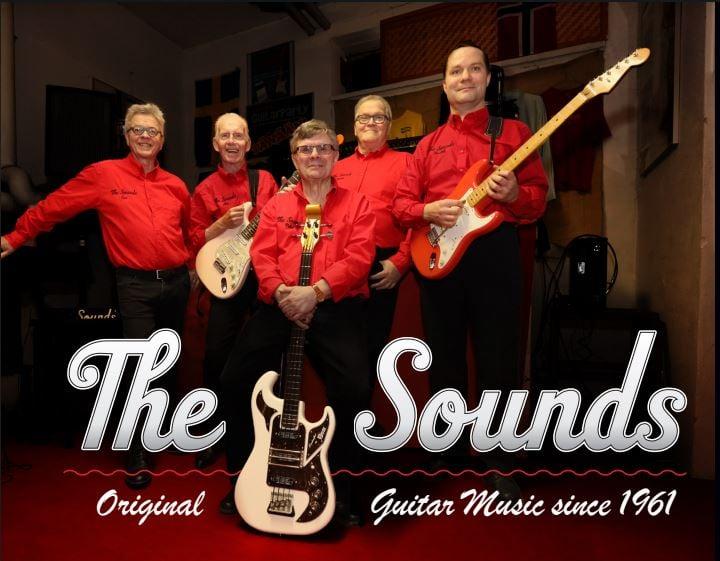 La 31.7. Juttutuvan sisäpihalla The Sounds (Suomi) klo 19.00